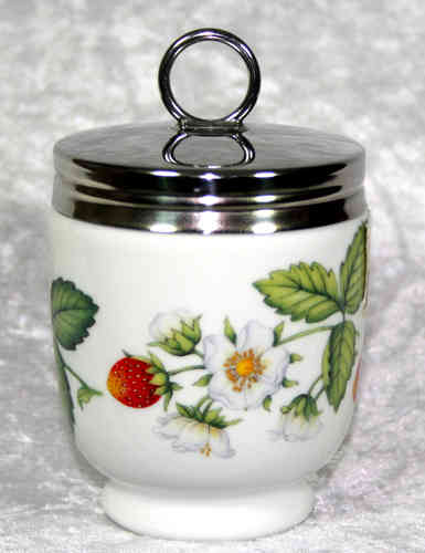 Royal Worcester Egg Coddler Strawberries King Size