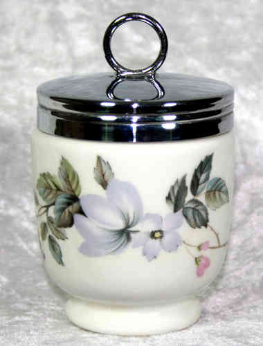 Royal Worcester Egg Coddler June Garland King Size