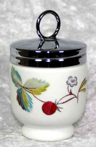 Royal Worcester Egg Coddler Strawberry Fair