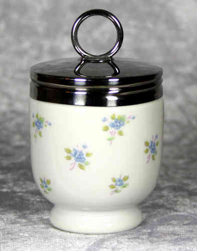 Royal Worcester Egg Coddler Cottage Flowers