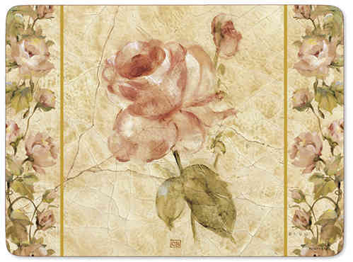 Pimpernel Tischsets Antique Rose Linen