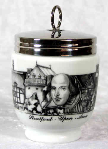 Royal Worcester Egg Coddler Stratford-upon-Avon King Size