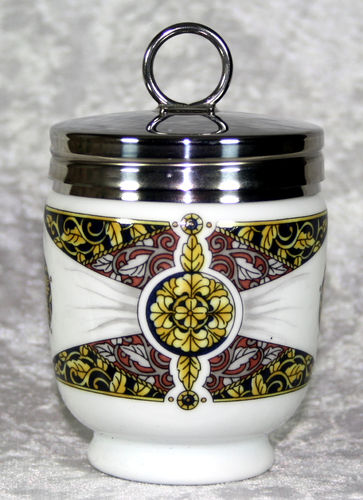 Royal Worcester Egg Coddler Renaissance Rosette King Size
