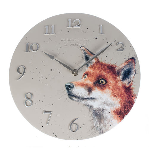 Wrendale Wanduhr Fox