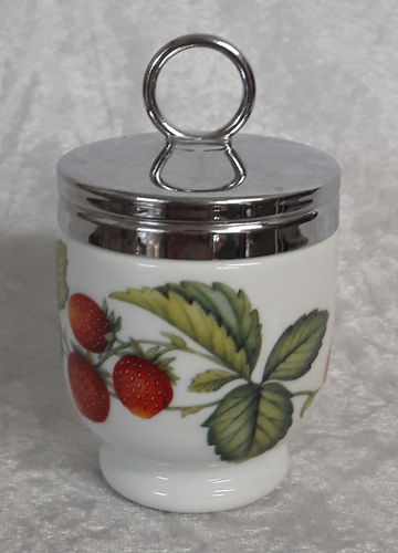 Royal Worcester Egg Coddler Strawberries