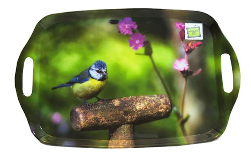 Country Matters Tablett Blue Tit