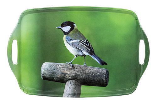 Country Matters Tablett Great Tit