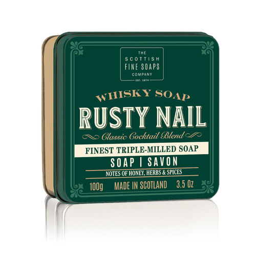Soap in a Tin - Rusty Nail