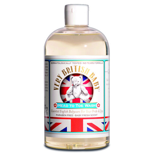 Very British Baby - Head to Toe Wash