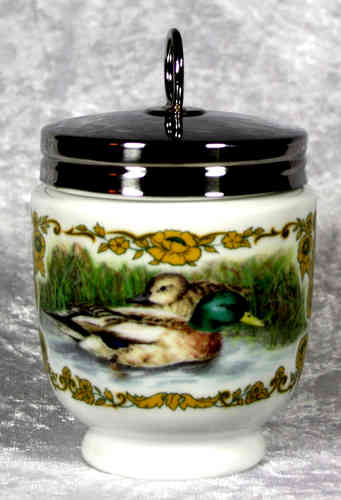 Royal Worcester Egg Coddler Wild Fowl King Size