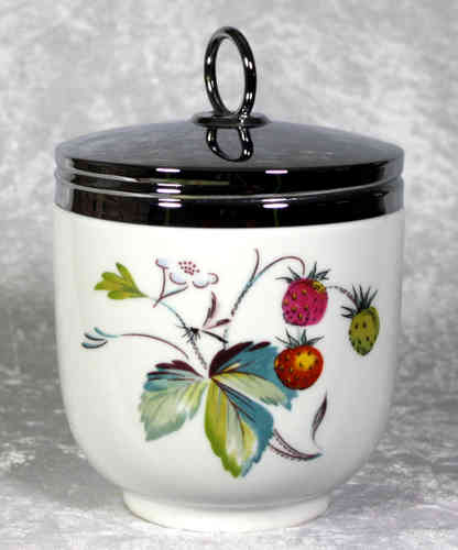 Royal Worcester Egg Coddler Strawberry Fair Maxime Size