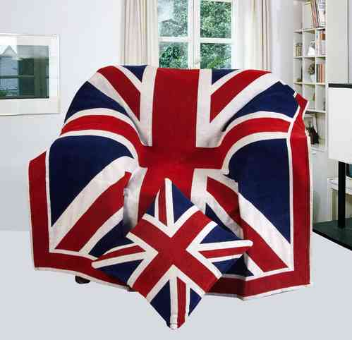 Union Jack - Plaid King Size