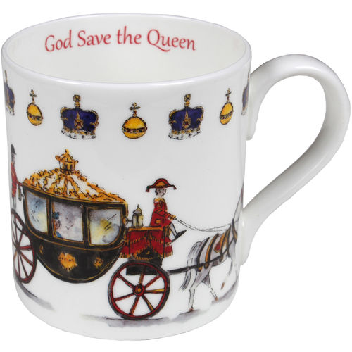 Queens Carriage Kaffeebecher