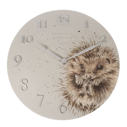 Wrendale Wanduhr Hedgehog