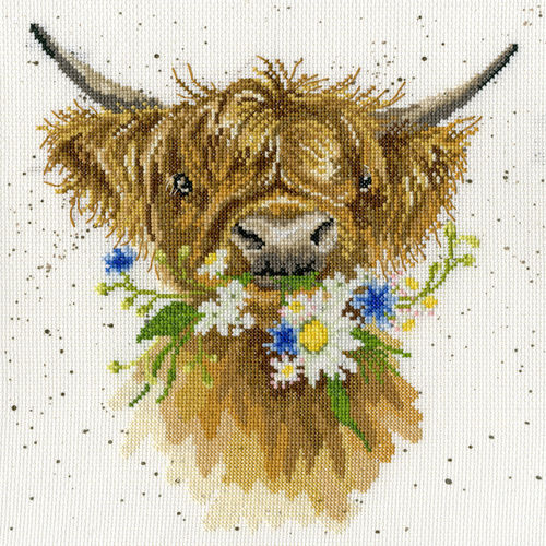 Wrendale Stickpackung Daisy Coo