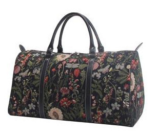 Signare Reisetasche Morning Garden Black
